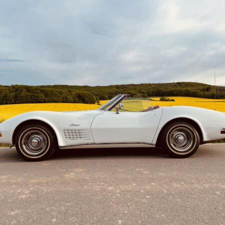 Corvette Oldtimer Hochzeitsauto Oldtimerzentrale