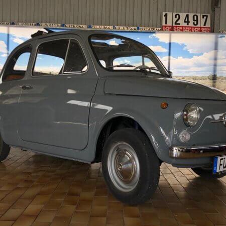 Fiat 500 Oldtimer Hochzeitsauto Oldtimerzentrale.de