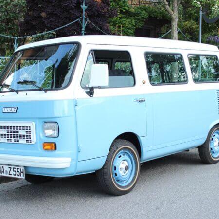 Fiat 900E Oldtimer Hochzeitsauto