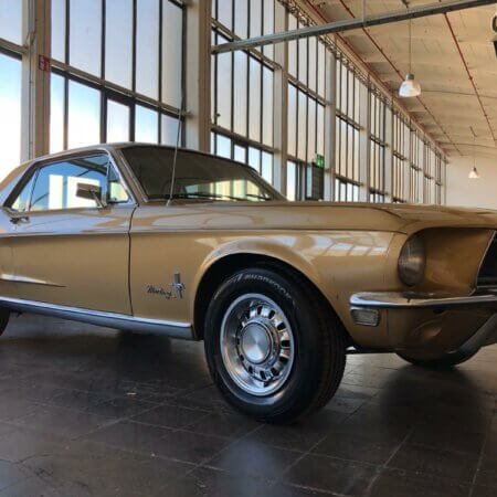 Ford Mustang Coupe Oldtimer Hochzeitsauto Oldtimerzentrale