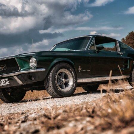 Ford Mustang Oldtimer Hochzeitsauto Oldtimerzentrale.de